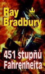 Obálka knihy 451 stupňů Fahrenheita  - ,