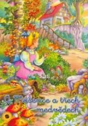 Obálka knihy O Mášence a třech medvědech - ,
