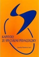 Obálka knihy Kapitoly ze speciální pedagogiky - ,