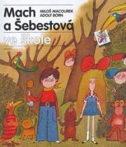 Obálka knihy Mach a Šebestová ve škole - ,