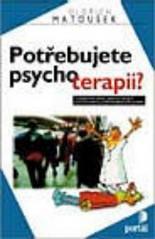 Obálka knihy Potřebujete psychoterapii?  - Portál, 1999