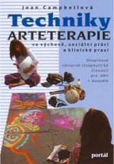 Obálka knihy Techniky arteterapie ve výchově, sociální práci a klinické praxi  - Portál, 2000