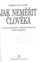 Obálka knihy Jak neměřit člověka  - Lidové noviny, 1998