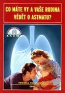 Obálka knihy Co máte vy a vaše rodina vědět o astmatu? - ,