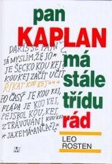 Obálka knihy Pan Kaplan má stále třídu rád - ,