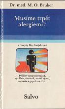 Obálka knihy Musíme trpět alergiemi?  - Osvětová agentura Salvo, 1990