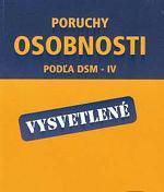 Obálka knihy Poruchy osobnosti podľa DSM-IV  - Vydavateľstvo-F , 2002