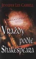 Obálka knihy Vraždy podle Shakespeara - ,